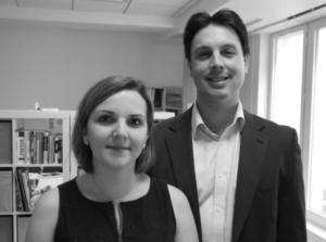 Maya Eder/ Olivier Corruble,co-fondateurs de Medicapp Connect