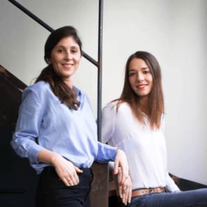 Julia KATLAMA et Anne-Charlotte HUGON