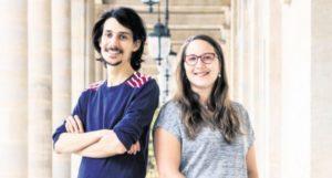 Julie Dautel et Cédric Tomissi