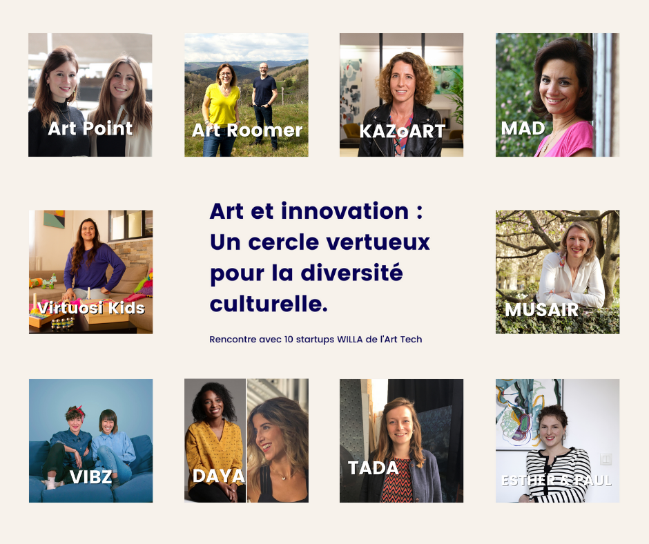 10 startups dans l'art